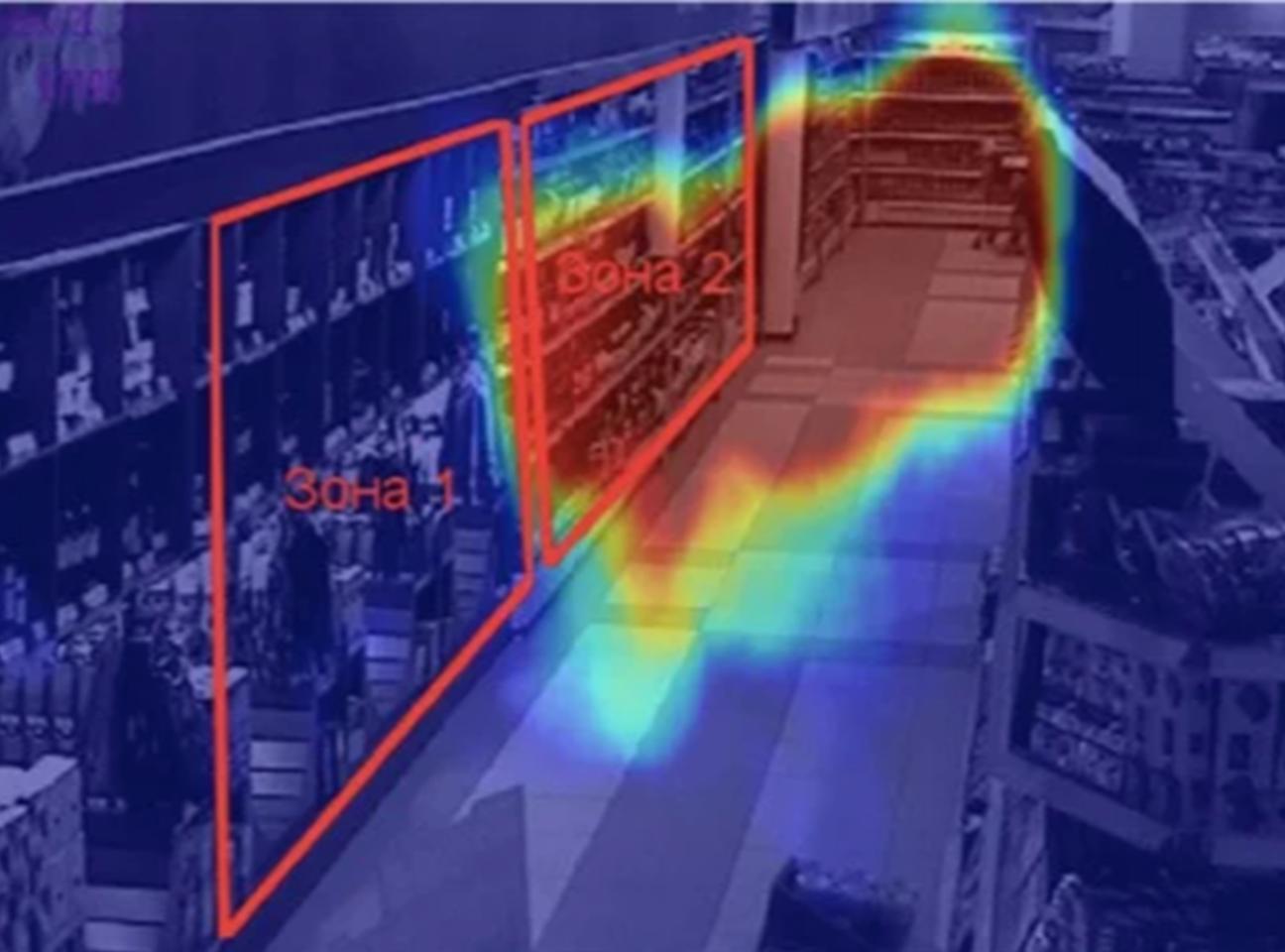 Компьютерное зрение для создания тепловых карт в ритейле